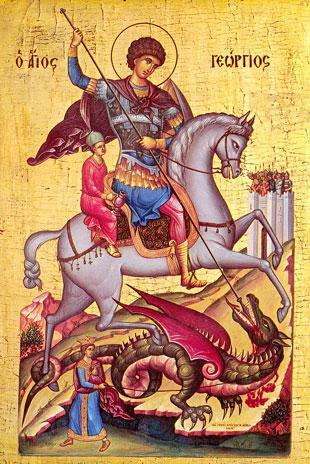иконы георгия победоносца фото